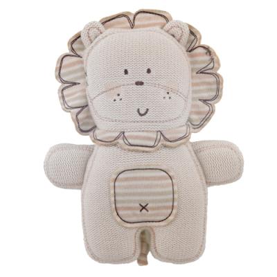 英國「Natures Purest」天然純綿--針織小獅子玩具