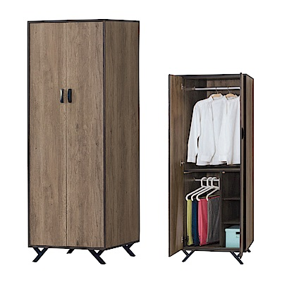 AS-莫爾茲<b>2</b>.<b>5</b>尺衣櫃-75x56x192cm