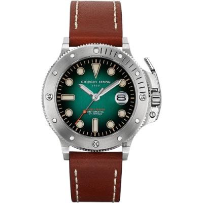 GIORGIO FEDON 1919 AQUAMARINE II 海洋機械錶(GFCR002)