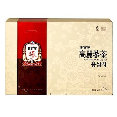 【正官庄】高麗蔘茶(100包/盒) (登記送5%購物金)