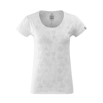 法國【EiDER】女排汗印花短袖圓領衫 / 9EIV4699-純淨白