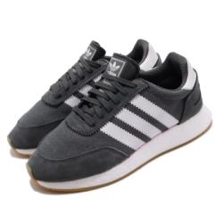 adidas 休閒鞋 I-5923 復古 低筒 男女鞋 海外限定 愛迪達 三葉草 絨布 穿搭 灰 白 EE4938