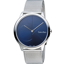 Calvin Klein minimal  大 ck 簡約時尚腕錶(K3M2112N)