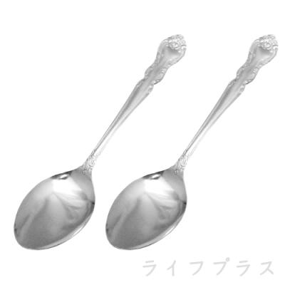 日本製雕花餐匙-2入X6組