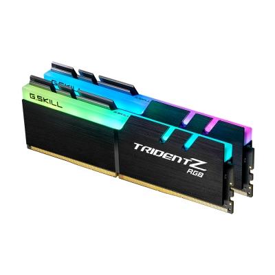 G.SKILL芝奇 Trident Z RGB 幻光戟系列 DDR4-3600MHz 16GB桌上型電競記憶體(8G*2)