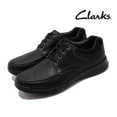 Clarks 休閒鞋 Cotrell Edge 真皮 男鞋