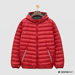 Hang Ten - 男裝 - ThermoContro-輕巧收納羽絨外套 - 紅