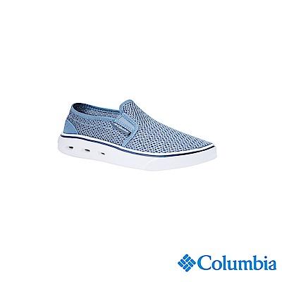 Columbia 哥倫比亞 女款-水陸休閒鞋-藍色 UYL54450BL