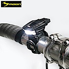 MOON MIZAR 快拆磁扣式USB超輕量警示前燈-黑