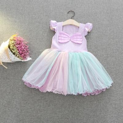 Kori Deer 可莉鹿 小美人魚洋裝 女嬰女童萬聖節變裝輕便版 派對造型攝影