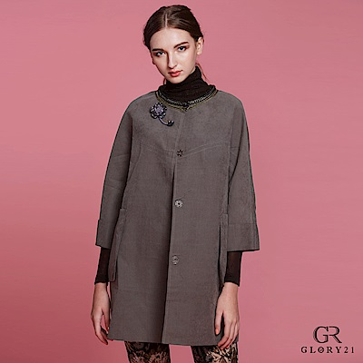 GLORY21 領口鎖鏈織帶外套 @ Y!購物