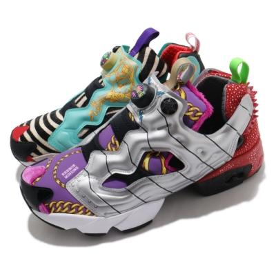 Reebok 休閒鞋 Instapump Fury MU 男鞋 經典款 充氣科技 史奴比 聯名 穿搭 彩 FY9092