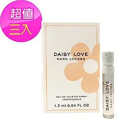 *Marc Jacobs Daisy Love 親愛雛菊女性淡香水 針管 1.2ml(3入)
