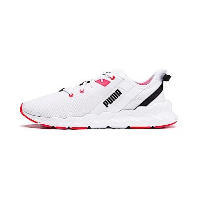 PUMA-Weave XT Wn s 女性有氧運動鞋-白色