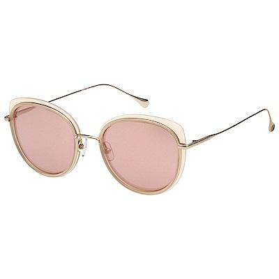VEDI VERO 水銀面 β鈦 太陽眼鏡 (裸色+金色)VE854