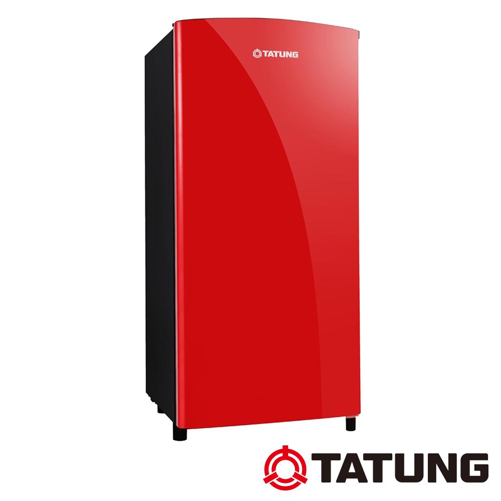 TATUNG大同 150L 4級定頻單門電冰箱 TR-150HTW-R 寶石紅