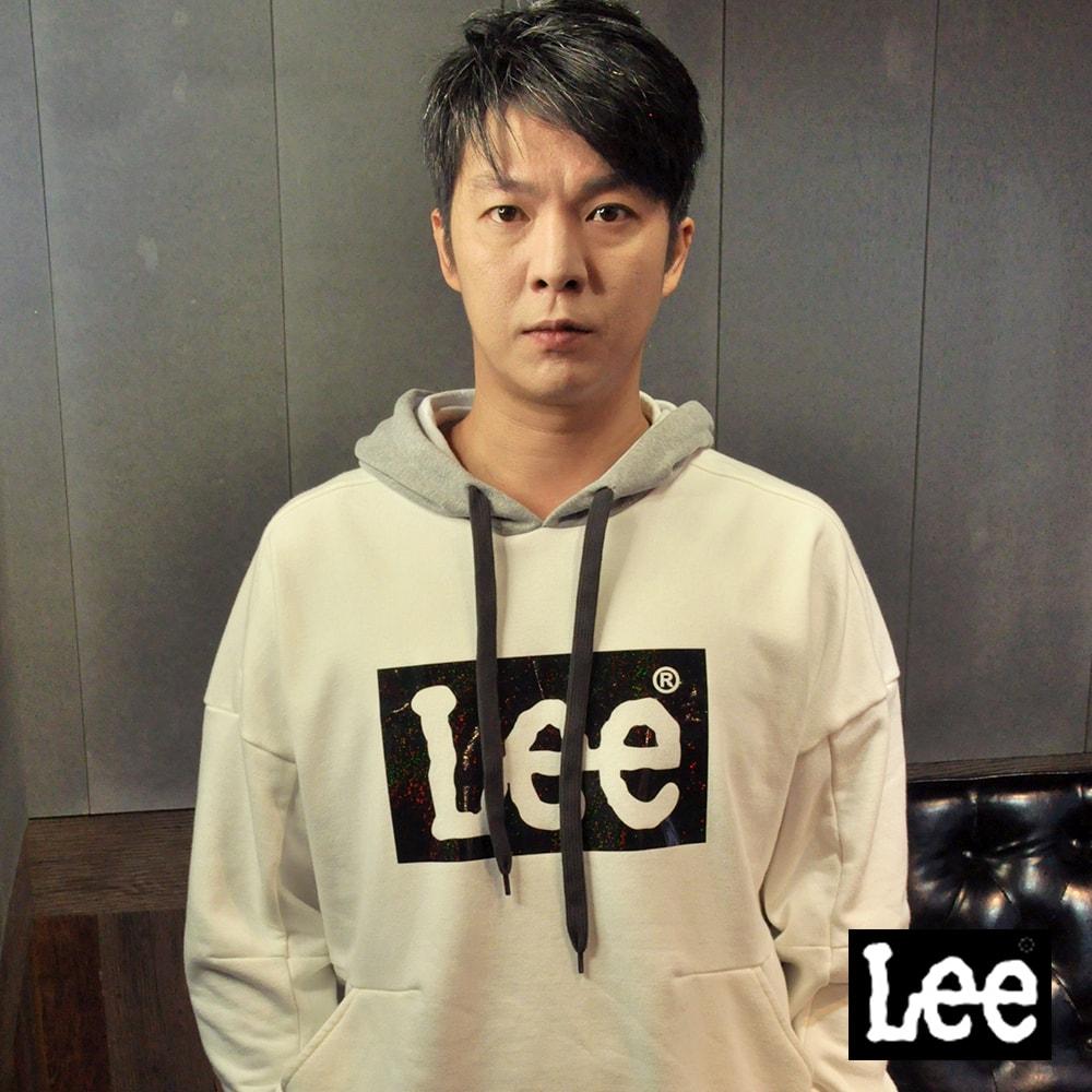 Lee 鏤空亮片LOGO長袖連帽TEE恤/RG @ Y!購物