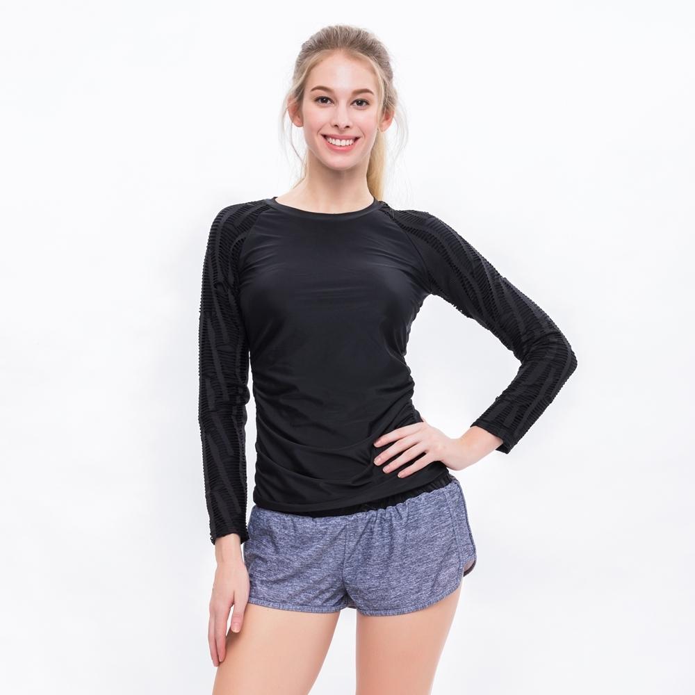 澳洲Sunseeker泳裝運動長袖兩件式泳衣/8183067BLA