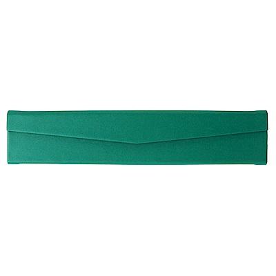 ARTEX life 皮革三角摺疊筆盒-綠