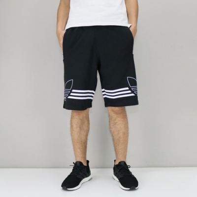 Adidas OUTLINE SHORT 男 短褲 黑