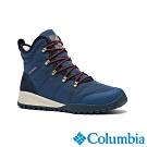 Columbia 哥倫比亞 男款- Omni TECH防水鋁點保暖雪靴-寶藍