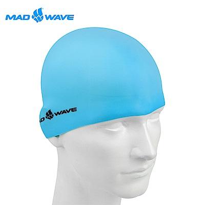 俄羅斯 邁俄威 加大矽膠泳帽 MADWAVE LIGHT BIG