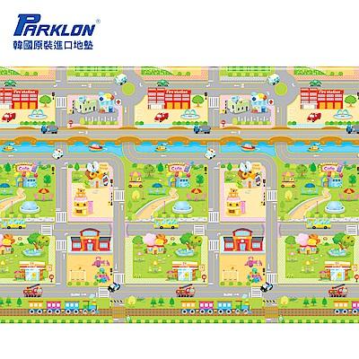 【PARKLON】韓國帕龍無毒地墊 - 單面切邊 - 車車迷宮