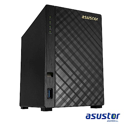 【促銷組合】ASUSTOR AS-1002T v2+Seagate 2TB*2