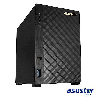 [促銷組]ASUSTOR AS1002T v2 2Bay網路儲存+WD20EFRX硬碟*2