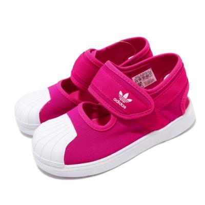 adidas 涼拖鞋 Superstar 360 外出 輕便 童鞋