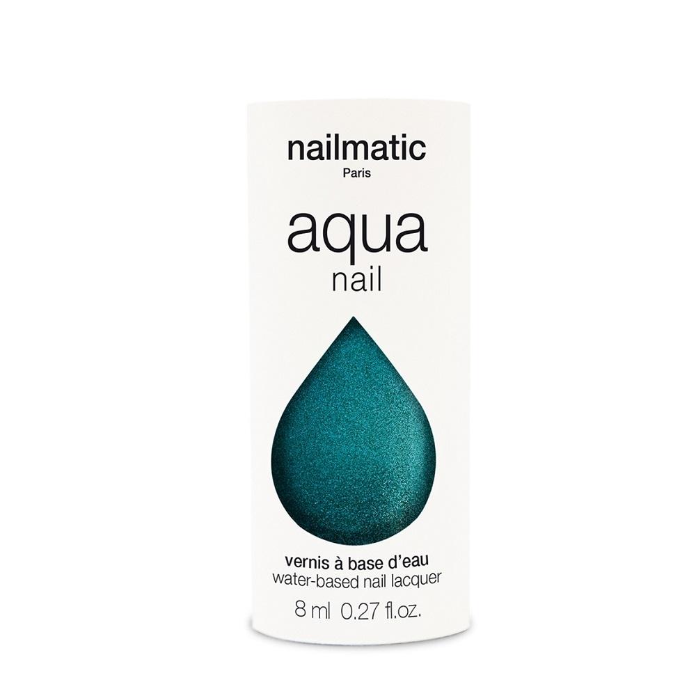 法國 Nailmatic 水系列經典指甲油 - Holly 珍珠翠綠 - 8ml