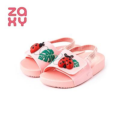 ZAXY GARDEN瓢蟲造型涼鞋(寶寶款)-粉