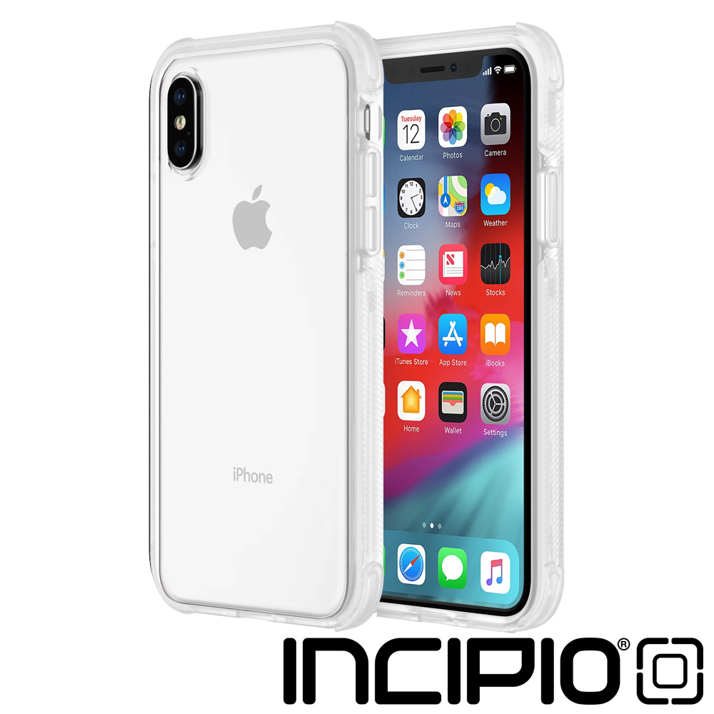 Incipio iPhoneXS Max 邊框強化防摔系列保護殼-全透明