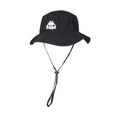 KAPPA 漁夫帽-遮陽 防曬 帽子 水桶帽 38146SW-005 黑白