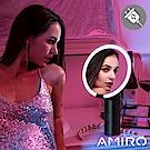 AMIRO O 系列高清日光化妝鏡(小黑鏡/有線版) - 深空灰