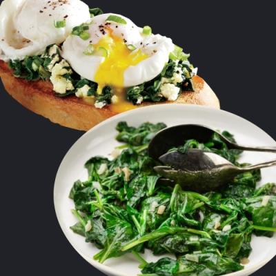 (滿額) 約克街肉舖 健康高纖冷凍菠菜1包(270g/包)