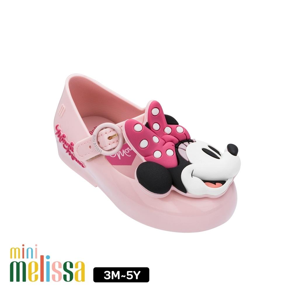 Melissa  Mickey國際聯名款 Minnie Face娃娃鞋 寶寶款 粉