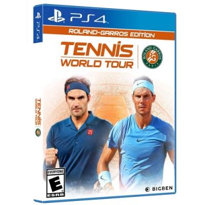 網球世界巡迴賽法國網球公開賽 -PS4中英文合版