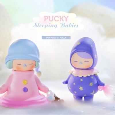 Pucky 畢奇精靈睡眠寶寶系列公仔盒玩(盒裝12入)