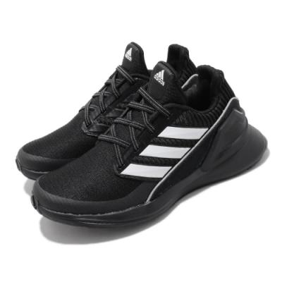 adidas 慢跑鞋 RapidaRun KNIT 童鞋