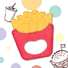 Baby童衣 PUKU藍色企鵝 Baby GaGa薯條固齒器(含鍊夾/收納盒) 88198