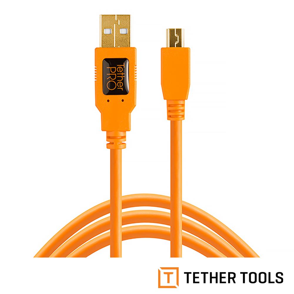 Tether Tools CU5451 USB傳輸線公轉 MINI B 5PIN
