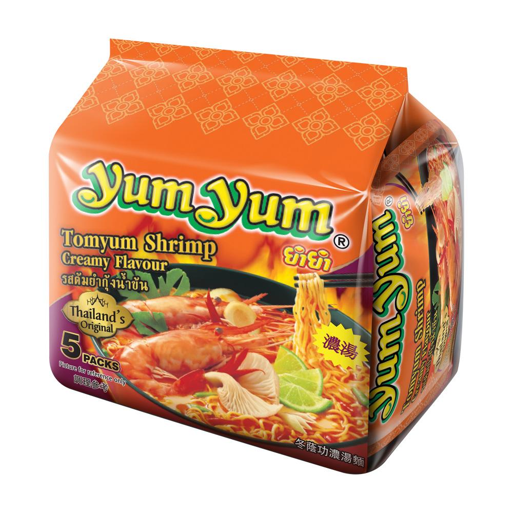 YUM YUM養養 香濃酸辣蝦味麵(350g)