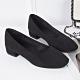KEITH-WILL時尚鞋館 明星款時尚素面粗跟鞋-黑 product thumbnail 1