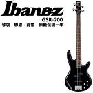 Ibanez GSR-200 電貝斯/主動式Bass/黑色