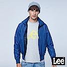 Lee 幾何扎洞休閒外套-亮藍