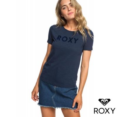 【ROXY】RED SUNSET SS A 純棉T恤 海軍藍
