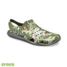 Crocs 卡駱馳 (男鞋) 男士激浪迷彩涼鞋 206010-97G