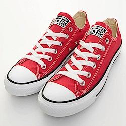 CONVERSE-男女休閒鞋M9696C-紅