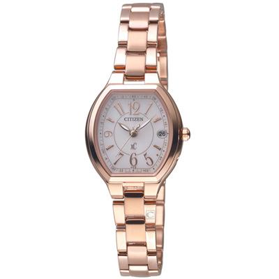 CITIZEN xC 小酒桶電波腕錶(ES9362-52W)